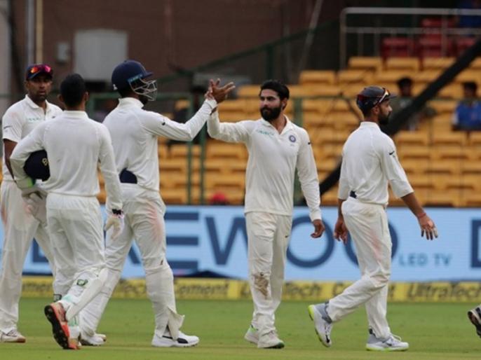 India vs West Indies: Team India announces their 12-man squad for second test in Hyderabad | IND vs WI: हैदराबाद टेस्ट के लिए टीम इंडिया का ऐलान, विंडीज के खिलाफ दूसरे टेस्ट में उतरेंगे ये 11 खिलाड़ी
