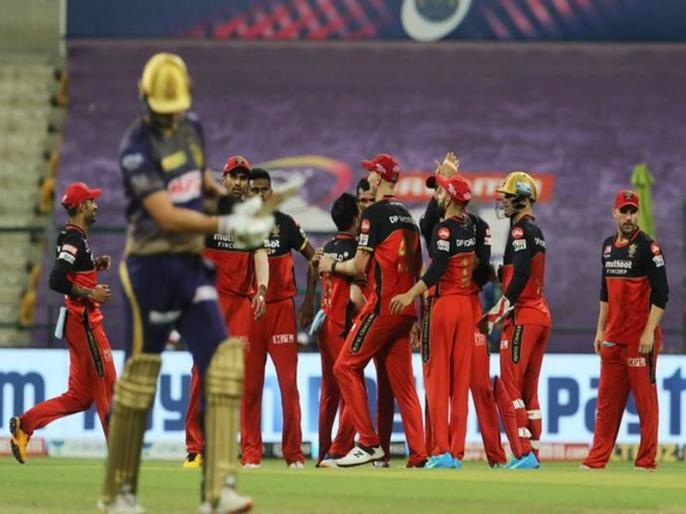 IPL 2021 Match 10 RCB vs KKR Match virat kohli won match by 38 run   IPL 2021: लगातार तीसरी जीत के साथ टॉप पर पहुंची विराट कोहली की आरसीबी, केकेआर को मिली दूसरी हार