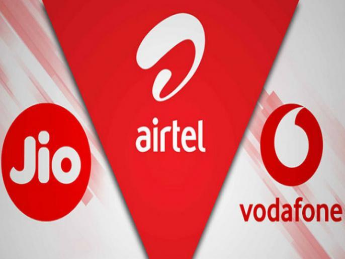 Spectrum auction Rs 77815 crore bidsReliance Jio top buyer Rs 57 122 croreAirtel and Vodafone Idea | स्पेक्ट्रम नीलामीः77815 करोड़ की बोलियां, जियो ने खरीदा 57,123 करोड़ रुपये का स्पेक्ट्रम, जानिएएयरटेल औरवोडाफोन आइडिया का हाल
