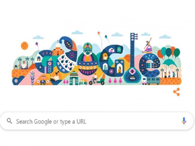 Republic Day 2020: Google celebrates Republic Day with this special Google Doodle, Glimpse of art and culture of India   Republic Day 2020: गूगल ने इस खास Google Doodle से मनाया गणतंत्र दिवस, दिखी भारत की कला और संस्कृति की झलक