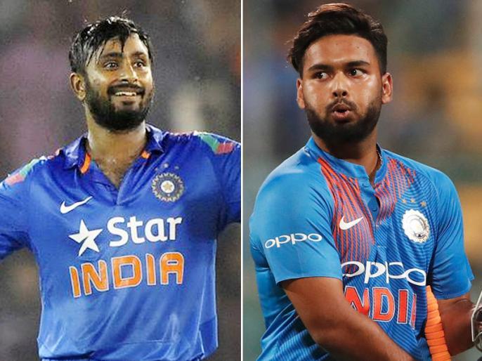 Pant, Rayudu, Saini are India's standbys for World Cup   टीम में नहीं मिला मौका, फिर भी विश्व कप-2019 में खेल सकते हैं पंत-रायुडू