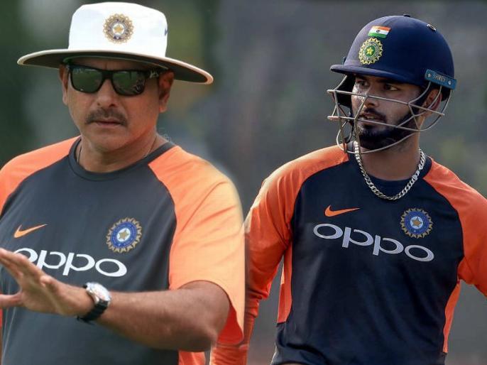 Rishabh Pant's shot selection has let the team down sometimes, says Ravi Shastri | रवि शास्त्री ने ऋषभ पंत को दी चेतावनी, कहा- अभी तो छोड़ रहे हैं, लेकिन गलतियां करते रहे तो भुगतना होगा खामियाजा