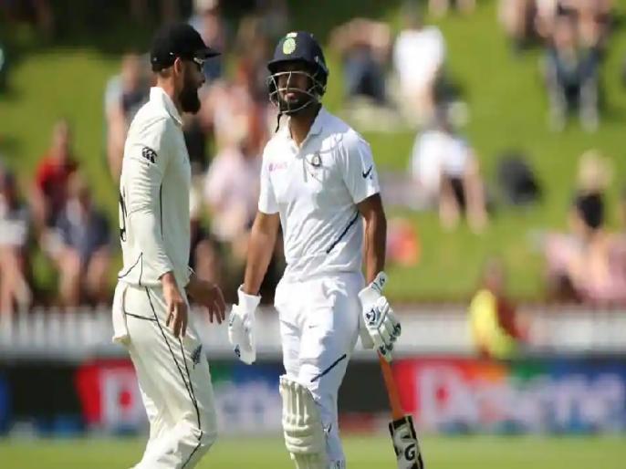 India vs New Zealand 1st Tets: Rishabh Pant gets run out, fans blame Ajinkya Rahane | IND vs NZ: ऋषभ पंत हुए रन आउट, भड़के फैंस ने रहाणे को बताया इसका 'जिम्मेदार'