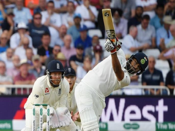 india vs england rishabh pant becomes the first Indian batsman to open his test account with six | Ind Vs Eng: ऋषभ पंत का कमाल, अपने पहले ही टेस्ट में छक्का लगाकर खाता खोलने वाले पहले भारतीय बने