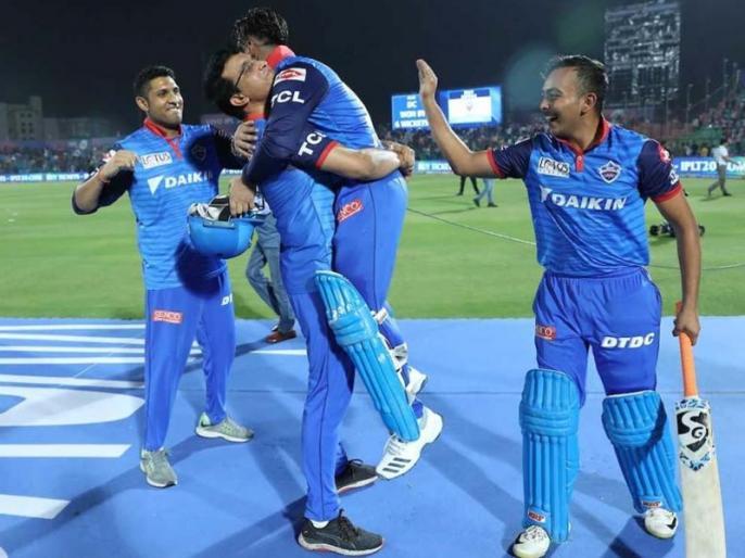 IPL 2019: You deserve this, you are wow, says Sourav Ganguly to Rishabh Pant after Delhi win Over Rajasthan Royals | दिल्ली की जीत के बाद ऋषभ पंत के फैन हुए गांगुली ने कहा, 'वह अकेले दम मैच का रुख बदल सकते हैं'