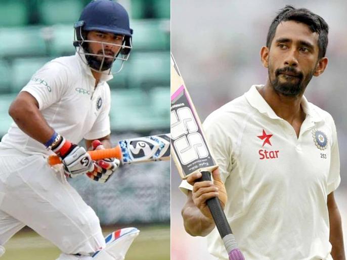 Chief Selector MSK Prasad explain Rishabh Pant or Wriddhiman Saha? Who is best Wicketkeeper for Test Team? | ऋषभ पंत और ऋद्धिमान साहा में से कौन है भारतीय टेस्ट टीम नंबर 1 विकेटकीपर, एमएसके प्रसाद ने दिया ये जवाब