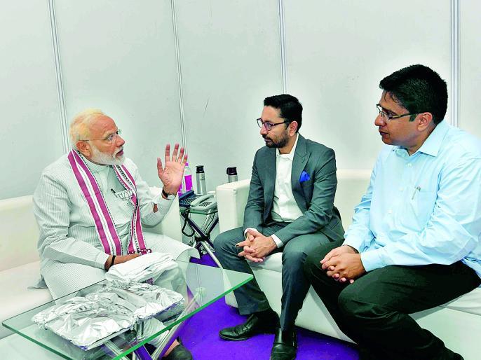 PM Narendra Modi exclusive interview with Lokmat lok sabha elections 2019, spoke on Modi wave to Priyanka Gandhi's political entry | PM Narendra Modi Exclusive Interview: 'केवल एक परिवार के लिए एक परिवार द्वारा चलाई जाने वाली पार्टी है कांग्रेस'