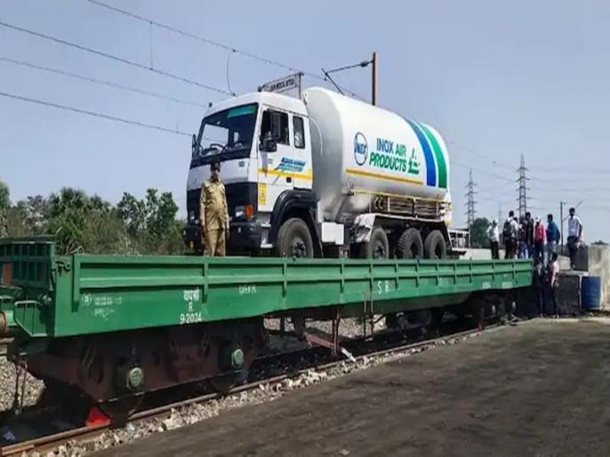 Kovid-19: Railways will run express trains to meet the increasing demand for oxygen   कोरोना संकट के बीच ऑक्सीजन एक्सप्रेस ट्रेन चलाएगा रेलवे, ग्रीन कॉरिडोर के जरिए होगी आपूर्ति