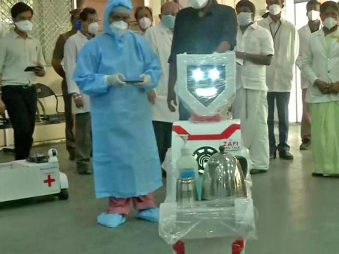 Robots to serve food and medicine to Covid-19 patients in Jharkhand | Covid-19: झारखंड में डॉक्टरों को कोरोना से बचाने के लिए लिया जा रहा रोबोट का सहारा, देंगे कोरोना मरीजों को दवाइयां और खाना