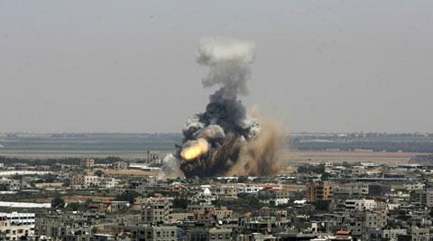 Five rockets fired near US embassy in Iraq's capital | इराक की राजधानी में अमेरिकी दूतावास के पास दागे गए पांच रॉकेट