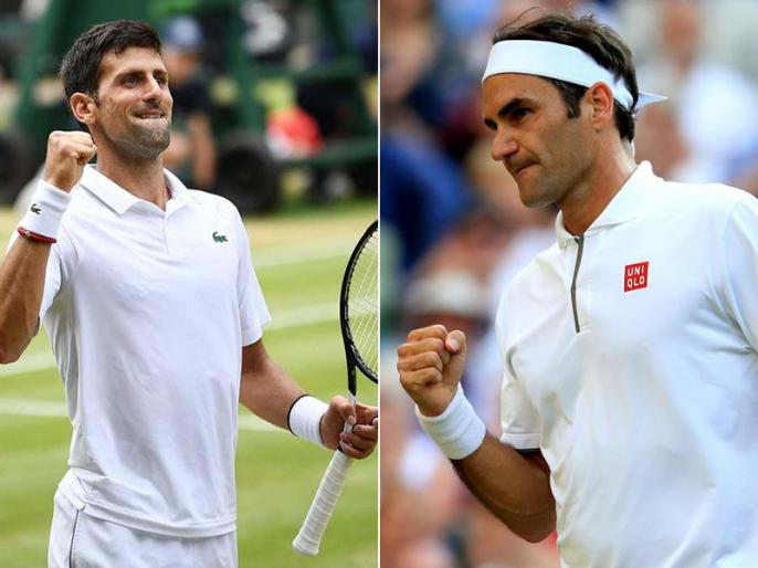 Wimbledon 2019 Final Preview: Roger Federer vs Novak Djokovic, Head to head, stats | Wimbledon 2019 Final: फेडरर के नौवें खिताब की राह में जोकोविच की दीवार, जानिए दोनों की जंग में कौन पड़ा है भारी