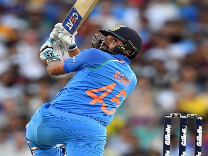 rohit sharma breaks shahid afridi record of most sixes in australia against australia | IND Vs AUS: रोहित शर्मा ने सिडनी वनडे में जड़े 6 छक्के, टूट गये शाहिद अफरीदी का ये दो बड़े रिकॉर्ड