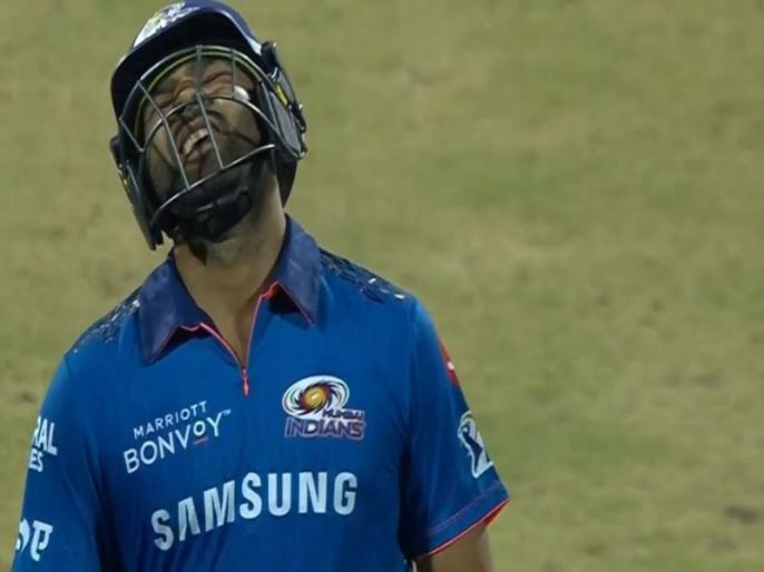 IPL 2021 MI vs SRH vijay Shankar to Rohit sharma out Caught by Virat Singh | IPL 2021 MI vs SRH: रोहित शर्मा-डिकॉक ने बरसाई बाउंड्री, फिर विजय शंकर ने आकर 'हिटमैन शो' पर लगाया ब्रेक