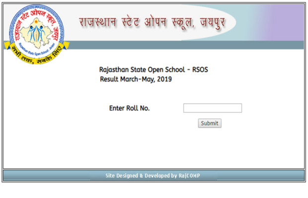 rsos 10th result 2019 live updates rajasthan state open school class 10 results to be declared today at rsosapp rajasthan gov know latest updates | RSOS 10th Result 2019: राजस्थान ओपन 10वीं रिजल्ट जारी, rsosapp.rajasthan.gov.in पर करें चेक