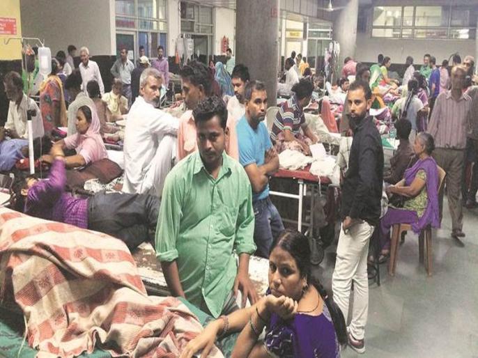Study reveal India facing shortage of 600,000 doctors, 2 million nurses | भारत में एंटीबायोटिक की कमी से हर साल लाखों की मौत, 10189 लोगों पर सिर्फ 1 डॉक्टर
