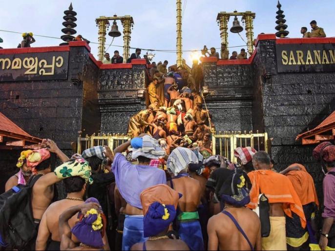 Sabarimala Temple: Police has sent back 10 women from Pamba. The women (between the age of 10 to 50) had come from Andhra Pradesh to offer prayers at the temple. | आंध्र प्रदेश से पंबा पहुंची दस युवतियों को नहीं मिली सबरीमला जाने की इजाजत