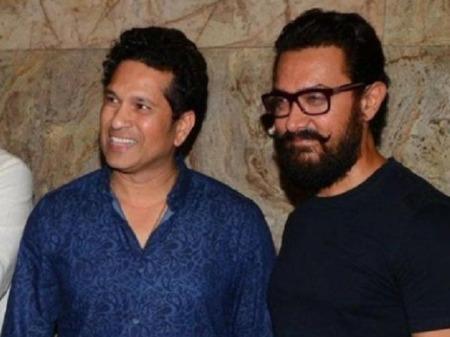 Sachin Tendulkar shares a hilarious post on Aamir Khan 54th birthday | 'ए', क्या बोलता तू?'- सचिन ने आमिर खान के 54वें बर्थडे पर मजेदार अंदाज में किया विश