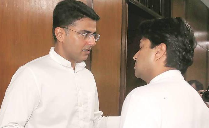 Delhi: Rajasthan Deputy Chief Minister Sachin Pilot met Jyotiraditya Scindia, 40-minute meeting | दिल्ली: राजस्थान के उपमुख्यमंत्री सचिन पायलट ने की ज्योतिरादित्य सिंधिया से मुलाकात, 40 मिनट चली बैठक