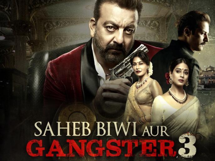 Sanjay Dutt starrer film Saheb Biwi Aur Gangster 3 new song baba is back released | Saheb Biwi Aur Gangster 3: गैंगस्टर बनकर लौटे 'संजय दत्त', बोले- 'बाबा इज बैक..आया तेरा बाप..'