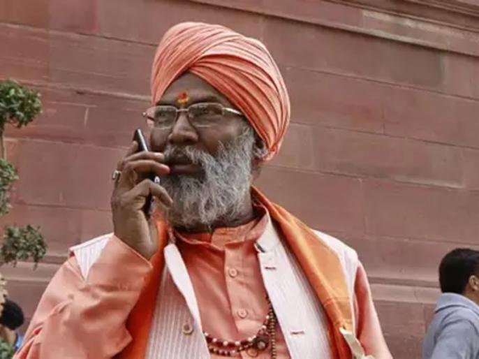 BJP MP Sakshi Maharaj received death threats, calling and saying Kashmir will soon be part of Pakistan | सांसद साक्षी महराज को मिली जान से मारने की धमकी, फोन कर कहा- कश्मीर जल्द होगा पाकिस्तान का हिस्सा