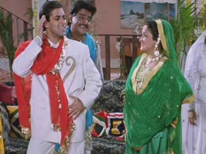 Actor Himani Shivpuri on her first-ever interaction with Salman Khan and how he broke the ice   'हम आपके हैं कौन' की शूटिंग के दौरान सलमान खान की हरकत देख ऐसा था हिमानी शिवपुरी का रिएक्शन, सालों बाद एक्ट्रेस ने खोला राज