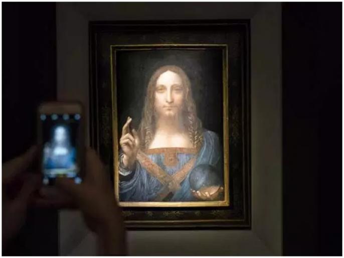 Leonardo Da Vinci masterpiece Salvator Mundi being kept on Saudi prince's yacht | 3000 हजार करोड़ में बिकी पेंटिंग का खुला रहस्य, नीलामी के बाद से थी गायब