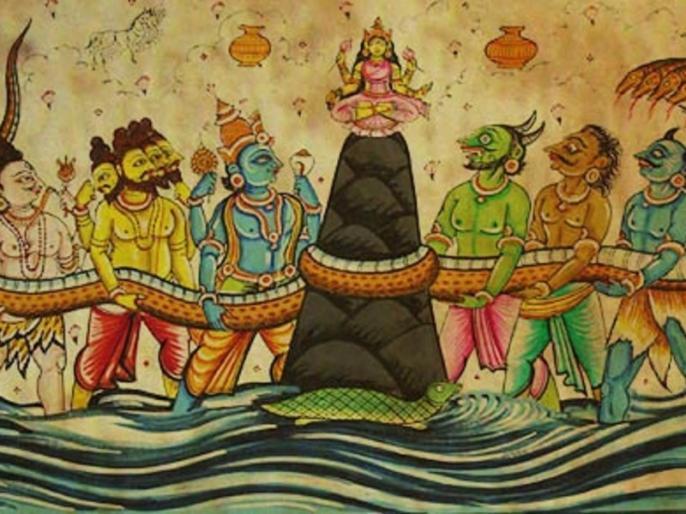 samudra manthan and ramayan virtual 3d look in kumbh mela 2019 | कुंभ 2019: 3डी प्रोजेक्शन के जरिए दिखाया जाएगा रामायण और समुद्र मंथन, एक घंटे में होंगे दो शो
