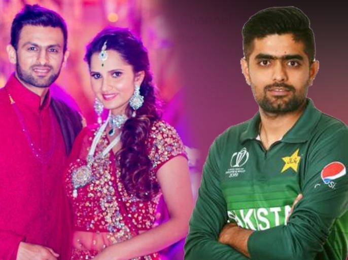 Babar Azam picks Sarfaraz Ahmed wife as his favourite Bhabhi, Sania Mirza reacts hilariously   बाबर आजम ने सरफराज अहमद की पत्नी को चुना अपनी पसंदीदा भाभी, सानिया मिर्जा ने कहा, 'आई विल किल यू'