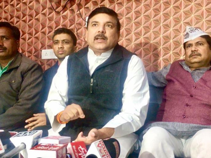 AAP leader Sanjay Singh will be present in Hazratganj Kotalwali, Lucknow after the end of Parliament session | देशद्रोह का मामला: AAP नेता संजय सिंह संसद सत्र समाप्त होने के बाद लखनऊ के हजरतगंज कोतलवाली में होंगे हाजिर
