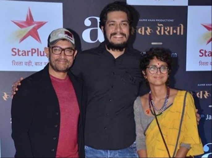 Aamir Khan says aboy his elder son Junaid Khan   आमिर खान ने बताया बेटे जुनैद को फिल्मों से ज्यादा इस चीज में हैं रूचि