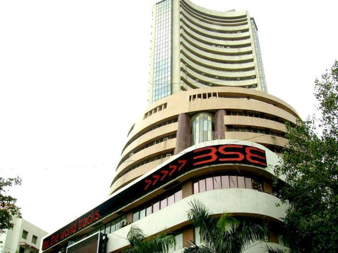 Sensex closed down marginally, bank shares fell | मामूली गिरावट के साथ बंद हुआ सेंसेक्स, लुढ़के बैंक शेयर, निवेशकों को झटका