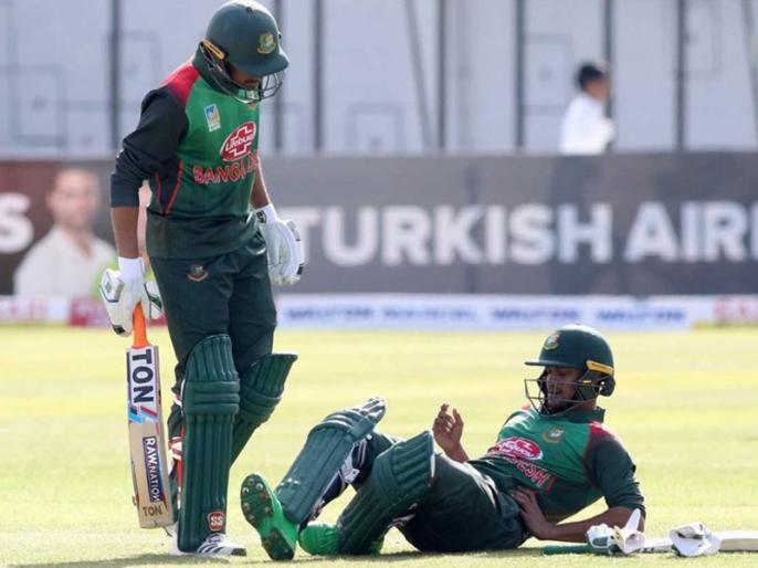 Shakib Al Hasan fitness concern for Bangladesh against West Indies in Tri-Series Final | Tri-Series Final: वेस्टइंडीज के खिलाफ इतिहास रचने उतरेगा बांग्लादेश, पर शाकिब की चोट से बढ़ी मुश्किलें