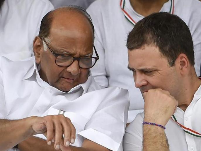 NCP Chief Sharad Pawar says Rahul Gandhi seems a lack of consistency | राहुल गांधी पर एनसीपी प्रमुख शरद पवार का बड़ा बयान, कहा- उनमें निरंतरता की कमी लगती है