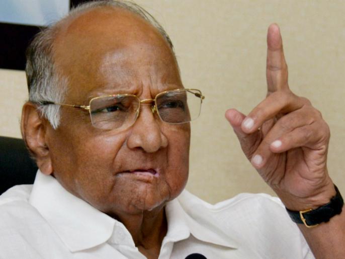 Maharashtra polls: Sharad Pawar addresses rally in rain | पवार ने बारिश में रैली को किया संबोधित, कहा- लोकसभा चुनाव में उम्मीवारों के चयन में हुई गलती, अब सुधारने का कर रहे इंतजार