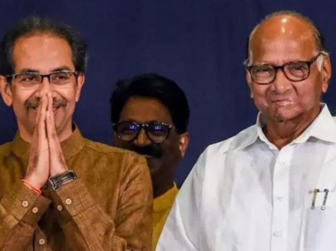 Maharashtra CM Uddhav Thackeray NCP chief Sharad Pawar and Shiv Sena MP Sanjay Raut met matter | महाराष्ट्रःसीएम उद्वव ठाकरे, एनसीपी प्रमुख शरद पवार और शिवसेना सांसद संजय राउत मिले, जानिए क्या है मामला