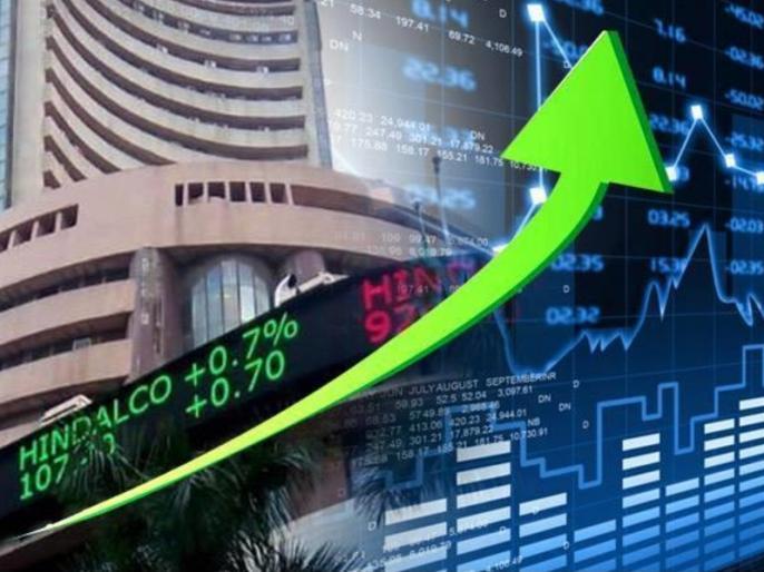 Stock market: Boom in second consecutive trading session, Sensex gained 227 points, Nifty crosses 12,200 mark | शेयर बाजार: लगातार दूसरे कारोबारी सत्र में तेजी, सेंसेक्स 227 अंक चढ़ा, निफ्टी 12,200 अंक के पार
