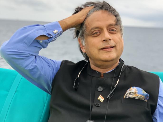 Shashi Tharoor's 'kerfuffle' tweet on holiday photos creates fuss on social media | शशि थरूर ने हॉलीडे की तस्वीर शेयर कर लिखी ऐसी बात कि हो गये ट्रोल, लोगों ने कहा- हम डिक्शनरी लेकर नहीं बैठते हैं