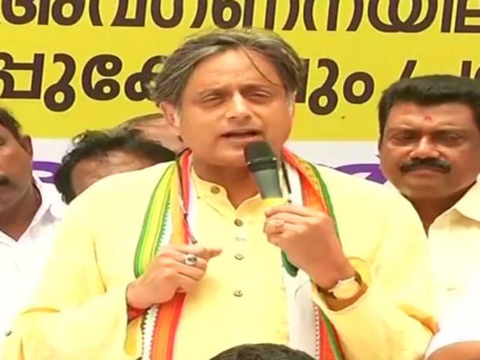 lokmat-parliamentary-awards-2019 BJP President Shah did not pay attention in the class of history, sarcasm of Congress leader Shashi Tharoor | भाजपा अध्यक्ष शाहने इतिहास की कक्षा में ध्यान नहीं दिया था,कांग्रेस नेता शशि थरूरका कटाक्ष