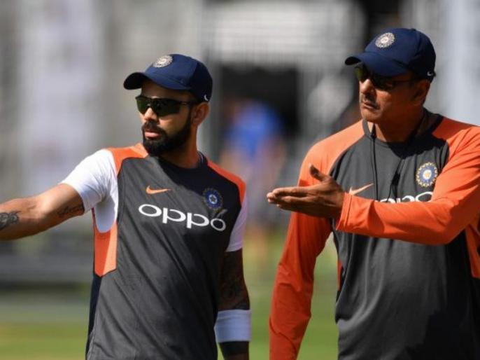 Ravi Shastri all set for another stint as Team India head coach | हेड कोच के रूप में रवि शास्त्री का एक और कार्यकाल लगभग तय