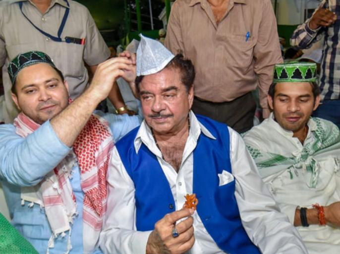 Bihar: Mahagathbandhan formula decised, announcment will be 15-16 January - Kirti Azad and Shatrughan Sinha can leave BJP | लोकसभा चुनावों के ऐन पहले कीर्ति आजाद और शत्रुघ्न सिन्हा छोड़ेंगे बीजेपी, बनेंगे महागठबंधन के स्टार प्रचारक!