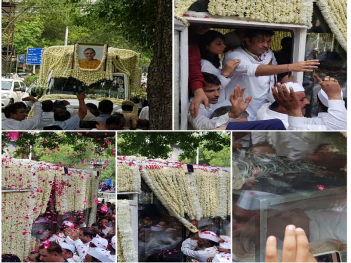delhi former cm sheila dikshit Death news cremated today all highlights and updates congress   दिल्ली के दिल में बसने वाली शीला दीक्षित हमेशा के लिए कह गईं अलविदा, लोगों ने नम आंखों से दी अपने प्रिय नेता को अंतिम विदाई