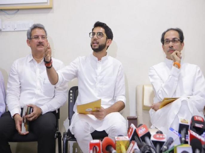 Maharashtra Assembly Polls 2019: Uddhav Thackeray reveals Why Shiv Sena did not release joint Manifesto with BJP | महाराष्ट्र चुनाव: उद्धव ठाकरे ने खोला राज, बताया शिवसेना ने क्यों नहीं जारी किया बीजेपी के साथ संयुक्त घोषणापत्र