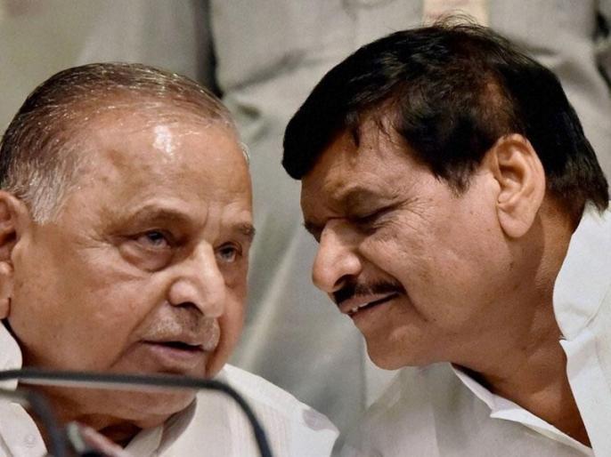 lok sabha election 2019: Shivpal singh yadav with mulayam singh yadav but against allience | लोकसभा चुनाव 2019ः शिवपाल यादव देंगे मुलायम सिंह का साथ, सपा-बसपा गठबंधन के खिलाफ