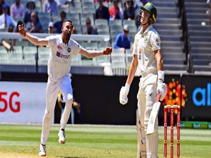 wtc finalmohammed siraj may get chance playing eleven ishant sharmaMohammed Shami Jasprit Bumrah | भारतीय टीम कीप्लेइंग इलेवन पर चर्चा तेज,मोहम्मद सिराज के कारण बाहर होगा ये दिग्गज!