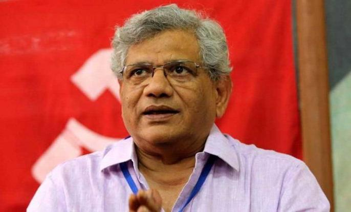 Sitaram Yechury and left party hit out at Modi government's economic policies | वामदलों ने आर्थिक संकट को लेकर मोदी सरकार पर साधा निशाना, येचुरी ने कहा- 'दक्षिणपंथी भटकाव' को हम ही चुनौती दे सकते हैं