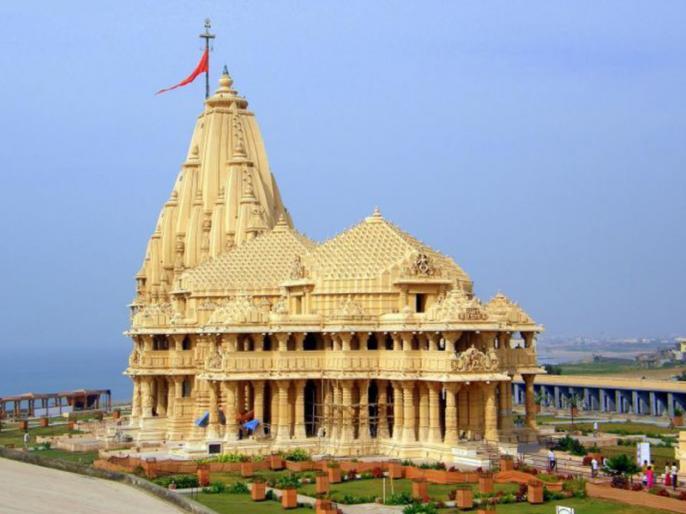 Cyclone Vayu Effect: Gujarat Minister Bhupendrasinh Chudasama on Somnath Temple remains open despite alert issued in view Of Vayu | Cyclone Vayu: गुजरात में अलर्ट के बावजूद खुले रहेंगे सोमनाथ मंदिर के कपाट