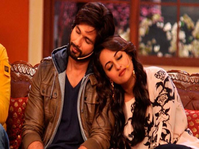 Sonakshi Sinha reacts to old link-up rumours with Shahid Kapoor | शाहिद कपूर संग अफेयर की खबरों पर सोनाक्षी सिन्हा ने तोड़ी चुप्पी, किया हैरान करने वाला खुलासा