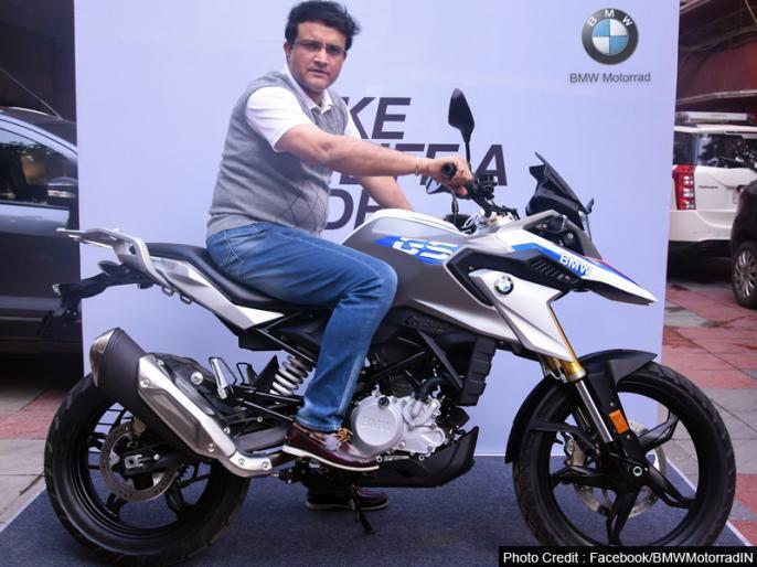 Sourav Ganguly buys BMW G310 GS Motorcycle | सौरव गांगुली ने खरीदी 3.49 लाख रुपये की बाइक, फीचर्स जान रह जाएंगे हैरान