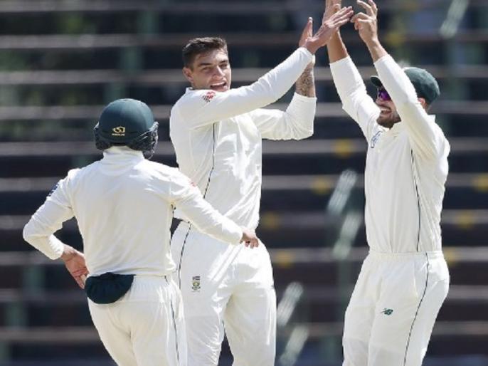 icc test ranking south africa jumps to second position after win in third test against pakistan | ICC Test Ranking: दक्षिण अफ्रीका को मिला पाकिस्तान पर जीत का बड़ा फायदा, रैंकिंग में दूसरे नंबर पर पहुंची टीम