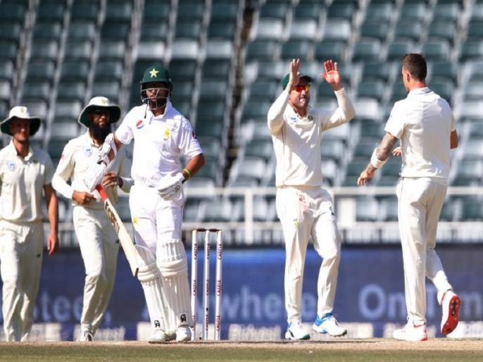 south africa beat pakistan in 3rd test johannesburg by 107 runs to clinch series by 3 0 | पाकिस्तान का टेस्ट सीरीज में सूपड़ा साफ, दक्षिण अफ्रीका की तीसरे मैच में 107 रन से जीत